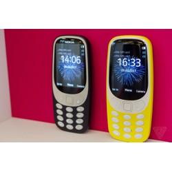 Điện thoại Nokia 3310 mẫu 2017 2 sim nguyên hộp