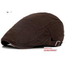 Nón bere nam nữ mũ bere nam nữ thời trang Châu Âu L12NL103