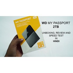 Ổ cứng Western My Passport 2TB , NEW , model 2017