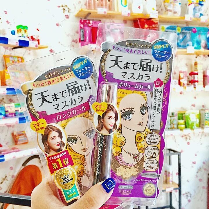 Mascara Kiss me Heroine Make Nhật Bản 1