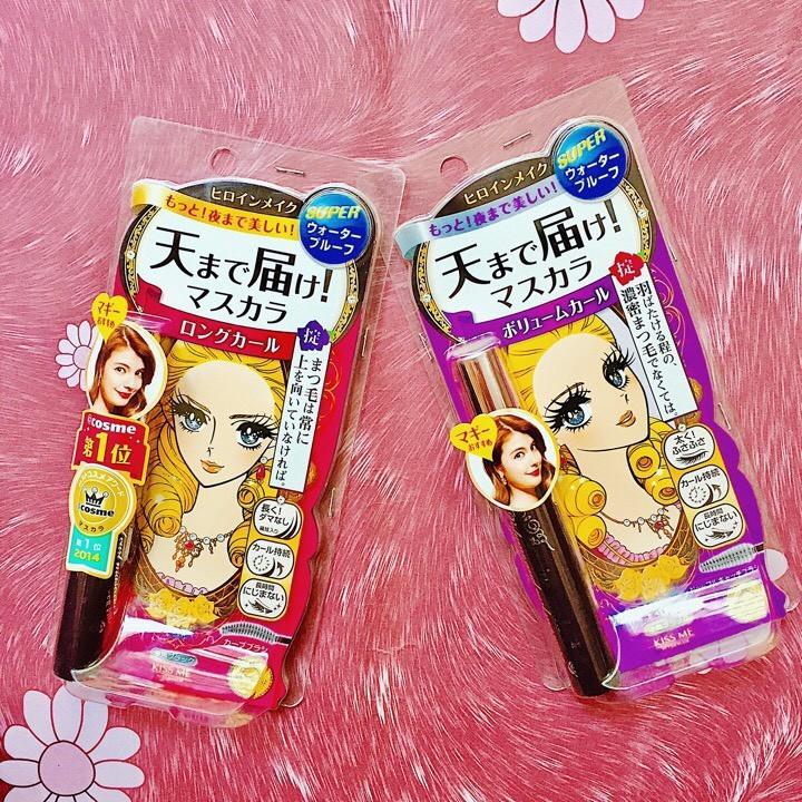 Mascara Kiss me Heroine Make Nhật Bản 3