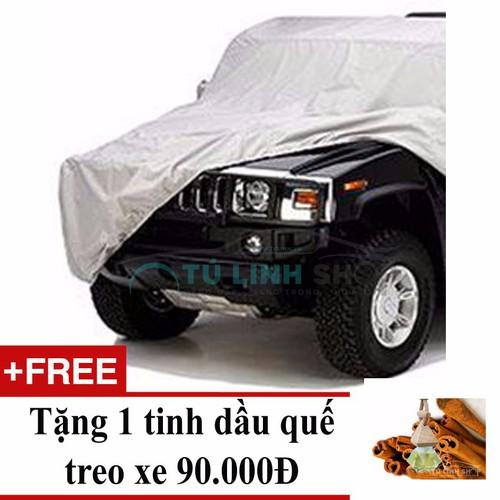 Bạt phủ toàn xe dành cho xe SUV 7 chỗ+ Tặng 1 tinh dầu quế treo xe - 11040502 , 6436748 , 15_6436748 , 299000 , Bat-phu-toan-xe-danh-cho-xe-SUV-7-cho-Tang-1-tinh-dau-que-treo-xe-15_6436748 , sendo.vn , Bạt phủ toàn xe dành cho xe SUV 7 chỗ+ Tặng 1 tinh dầu quế treo xe