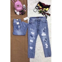 Baggy jean rách mã mới về hàng