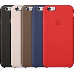 Ốp lưng iPhone 6-6s dẻo hiệu Leather Case