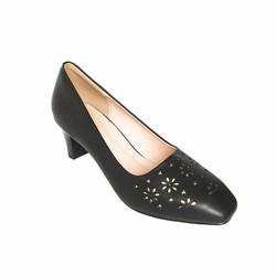 Giày cao gót nữ cắt lazer hoa