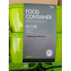 Combo 2 hộp Food Container 1320ml