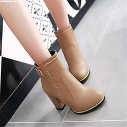 Giày Boot nữ phong cách Hàn Quốc B080B