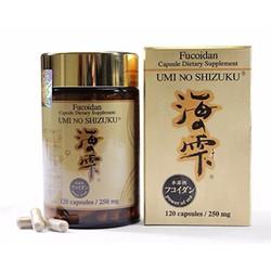 Umi No Shizuku Fucoidan - Made In Japan