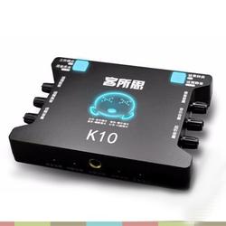 Card sound hát karaoke cắm ngoài USB - XOX K10