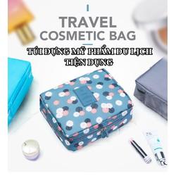 Túi đựng mỹ phẩm đi du lịch tiện ích