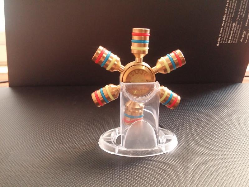 Spinner 6 Cánh Bi Inox 8