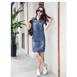 Đầm jean xinh xắn IT477