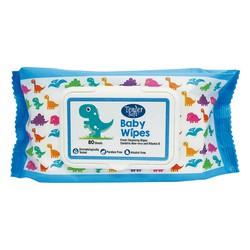 Chuyên sỉ Khăn giấy ướt em bé Tender Soft màu xanh loại 80 miếng