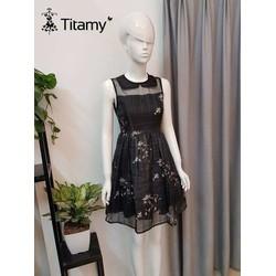 Váy xòe họa tiết cực đáng yêu