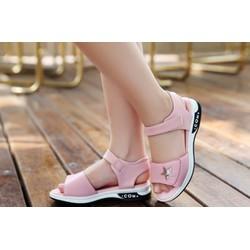 sandal sao Hàn Quốc  - dép học sinh - sandal bé gái - giày dép bé gái
