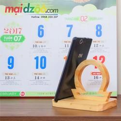 Giá gỗ đỡ điện thoại 12 Cung hoàng đạo [Handmade]