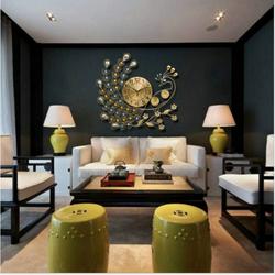 Đồng Hồ Treo Tường Công Vàng