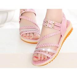 sandal học sinh -  dép bé gái thời trang -  dép sandal - giày dép
