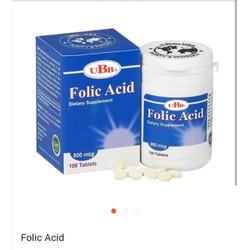 Thực phẩm chức năng UBB Folic Acid