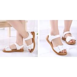 sandal nơ bé gái - dép sandal học sinh - sandal bé gái thời trang