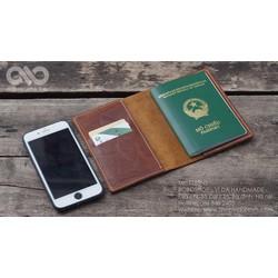 Ví đựng passport, bao da passport