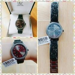 Đồng hồ nữ xách tay Mỹ đính đá chính hãng I.N.C International Concepts