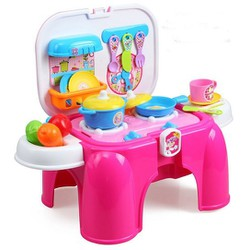 Bộ đồ chơi nấu ăn hình chiếc ghế cho bé