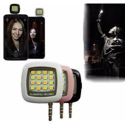 Đèn LEDflash 16 bóng cực sáng hỗ trợ selfie