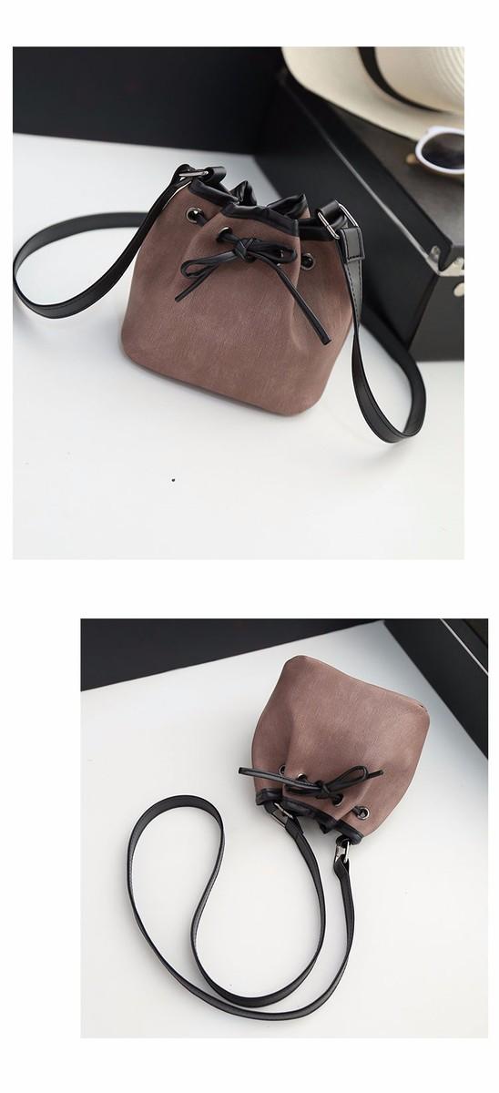 Bộ balo kết hợp túi đeo vai kèm túi nhỏ bucket 3
