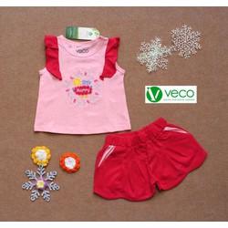 Set bộ đồ xuất khẩu vòng hoa Happy VECO size lớn