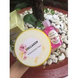 Kem body collagen cho làn da trắng mịn màng