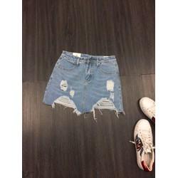 Chân váy jean hàng nhập