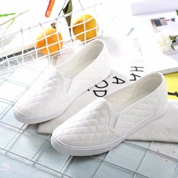 Giày mọi thời trang nữ chỉ đan zik zak - LN1304