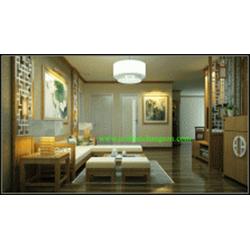 Phòng khách gỗ tự nhiên sồi mỹ 19