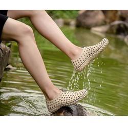 Giày đi mưa mùa hè nam nữ phong cách cá tính GDM2