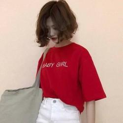 ÁO THUN NỮ HÀN QUỐC 2017 BABY GIRL