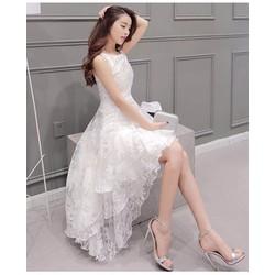 Đầm ren đuôi tôm cao cấp -