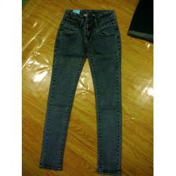 quần jean màu lông chuột xám