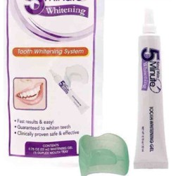Gel tẩy trắng răng Natural white 5-minute Tooth Whitening System