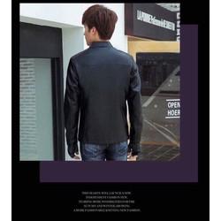 Áo khoác da form chuẩn mẫu 03