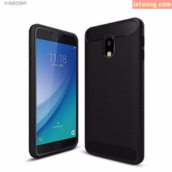 Ốp lưng Galaxy J7 Pro Viseaon Rugged Armor Carbon nhựa mềm