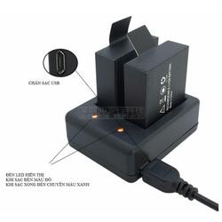 Dock sạc đôi cho action camera