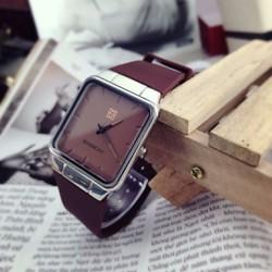 Đồng hồ da nam mẫu mới hàng nhập bao đẹp