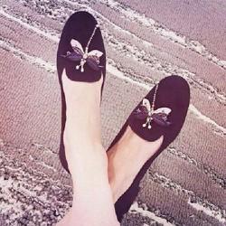 Giày mọi chuồn chuồn
