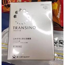 Viên uống trắng da trị nám Transino 240 Viên Nhật Bản