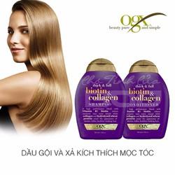 Dầu gội xả collagen chống rụng tóc