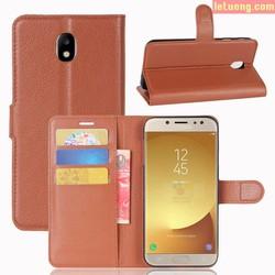 Bao da Samsung Galaxy J7 Pro LT Flip Wallet dạng ví đa năng