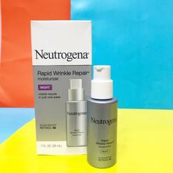 Kem Neutrogena Rapid Wrinkle Repair Moisturizer night