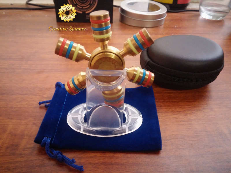 Spinner 6 Cánh Bi Inox 6