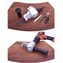 Bộ chuyển đổi cắt gỗ và cắt tôn cho khoan, phụ kiện khoan chuyên dụng